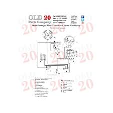 ferguson tef 20 wiring diagram harry ferguson \u2022 wiring diagrams ferguson to 20 wiring diagram at Ferguson T20 Wiring Diagram