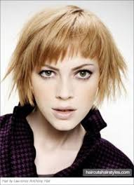 Short Layered Hairstyles With Wispy Bangs Unique Great Short To