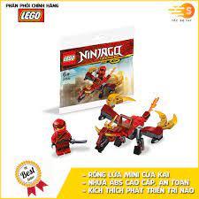 Bộ đồ chơi lắp ráp rồng lửa mini của Kai Lego NinjaGo 30535 - Tốc độ 247