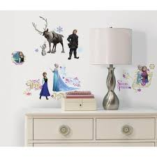 frozen l and stick wall decals
