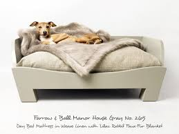 wood dog bed furniture. wonderful dog raised wooden dog bed in manor house gray and wood furniture