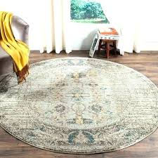 7 ft round area rug 9 foot round area rugs 9 ft round rug gray multi