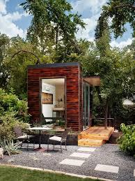tiny backyard home office. Photo By: Blake Gordon Tiny Backyard Home Office T