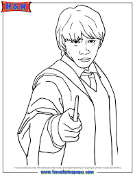 Small Picture Ronald Weasley From Harry Potter Series Coloring Page H M