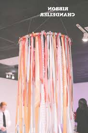 diy wedding projects 10 ways to use ribbon for your wedding for ribbon chandelier