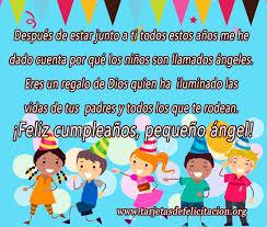 tarjetas de cumplea os para ni as postales de cumpleaños para niños tarjetas de felicitación
