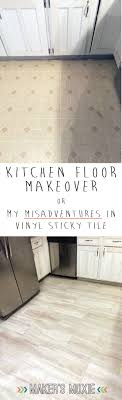 Vinyl Tiles For Kitchen Floor Grout Able Self Adhesive Vinyl Tile A Kitchen Floor Story