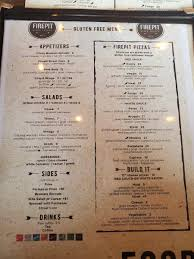 Maybe you would like to learn more about one of these? Gluten Free Menu Photo From Firepit Pizza Tavern