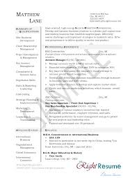 Free Account Manager Resume Templates At Allbusinesstemplates Com