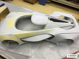Bespoke Car Design Google Bespoke Concept Scale Model Construction Process