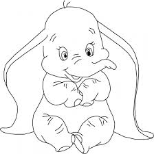 Dumbo Printable Coloring Pages Disney Dumbo Printable Coloring