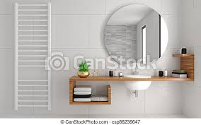 Enjoy free shipping on most stuff, even big stuff. Modern Bathroom Interior In Loft Style Chest Of Drawers 3d Illustration Modern Glass Shower Room In Loft Style Ceramic Canstock