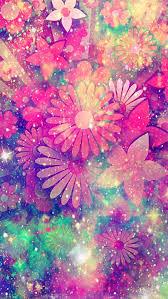 Glitter Kawaii Pink Galaxy Wallpaper ...