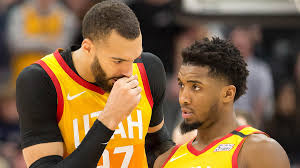 Donovan Mitchell and Rudy Gobert's ...