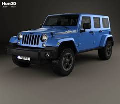 Jeep Wrangler Unlimited Polar Edition 2014 3D model - Hum3D