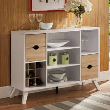 Kitchen Dining Buffet Server Cabinet Drawers Storage Shelves