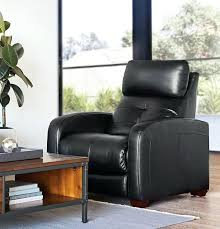 homcom luxury leather recliner sofa chair massage adjustable armchair black recliners designs furniture outstanding mobile enchanting