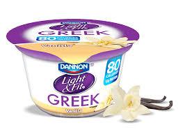 Yoplait Light And Fit Greek Yogurt Vanilla Nonfat Greek Yogurt Yogurts Vanilla Greek Yogurt