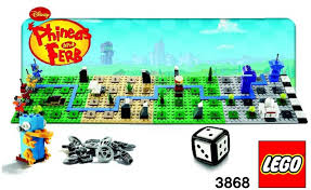 lego phineas and ferb instructions 3868 games