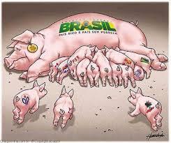 Resultado de imagem para CORRUPÇAO NA POLITICA BRASILEIRA