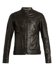 belstaff weybridge waxed leather biker jacket black mens belstaff london usa official