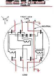 form 4s meter wiring diagram wiring library 3 phase 4 wire form 16s