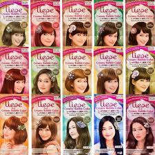 Liese Hair Dye Color Chart Liese Bubble Hair Dye Colour Chart Bedowntowndaytona Com