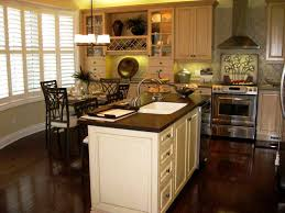 Light Wood Kitchen Dark Kitchen Cabinets And Light Wood Floors Quicuacom