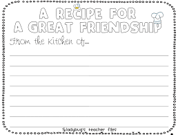 Small Picture Enemy Pie Friendship Writing Activities Enemy pie Teacher and