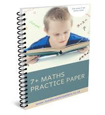 Practice Paper Free 7 Maths Practice Paper