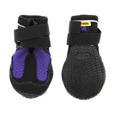 Muttluks Mud Monster Dog Boots Purple With Black Trim Set Of Two