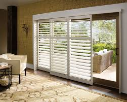 wooden window shutters plantation blinds for sliding patio pertaining to glass doors prepare 1