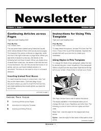 sample company newsletter free employee newsletter templates hatch urbanskript co