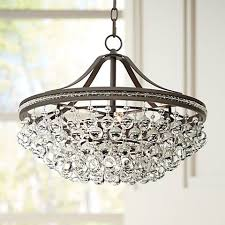 crystal pendant lighting. Wohlfurst 20 1/4\ Crystal Pendant Lighting