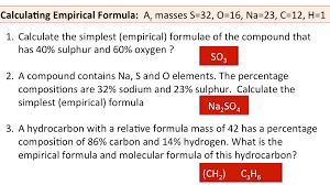 experiment to find the formula of hydrated copper ii sulfate experiment and worked example calculation