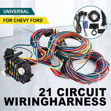 universal wiring harness 21 circuit wiring harness for chevy universal wires fit x long