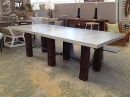 concrete top dining table. Concrete Top Dining Table Design