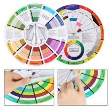 Details About Perfect Pocket Color Wheel Artist Paint Pigment Mixing Guide Select Chart