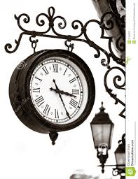 vintage style clock.  Style Vintage Style Street Clock View And Style Clock Y