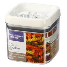 better homes gardens flip tite square container 4 5 cups com