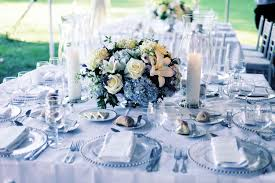 ... Good Images Of Blue And White Centerpieces For Wedding Table Decoration  Ideas : Simple And Neat ...