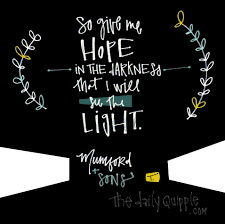 Light In The Darkness Song Song Lyrics The Daily Quipple Part 2