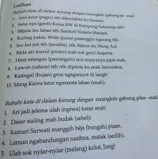 Jawaban bahasa jawa kelas 7 hal 108 brainly co id. Kunci Jawaban Bahasa Sunda Kelas 8 Revisi Sekolah