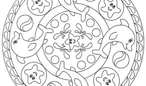 Small Picture Mandala Coloring Pages Kids Stunning Coloring Mandala Coloring