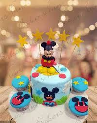 mickey mouse birthday cake for boys