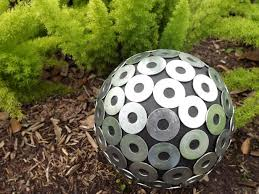 Decorating Bowling Balls Marbles Mesmerizing How To Make A Contemporary Garden Gazing Ball HGTV
