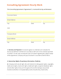Business Consulting Agreement Template - Kleo.beachfix.co