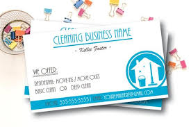 Cleaning Service Business Cards Housekeeping Business Digital File Or Printed Business Cards Custom Business Card Cleaning Lady