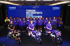 february 15 2018 yamaha motor co ltd tokyo 7272 held the 2018 yamaha motorsports a conference at the chang international circuit in buriram