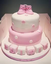 Baby Girlboy Christeningbaby Showerbirthday Cake Clairsyscakes